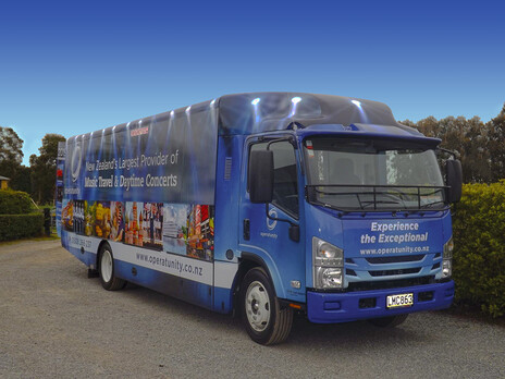 Check out Operatunity's new 'rolling billboard'!