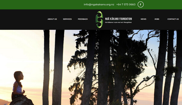 Very excited to launch the new website for Ngā Kākano Foundation.